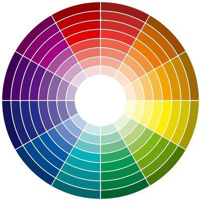 Tips infographie : les roues de couleur Roue-chromatique-degrade-lumineux-