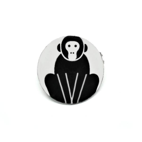 Badgi black monkey 0