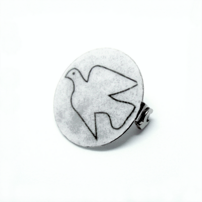 Brooch Dove