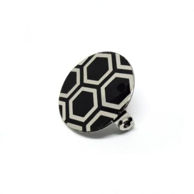 Broche Hexagone
