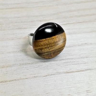 Ring PAULA (tiger eye)