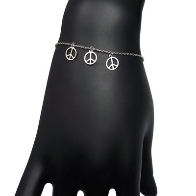 Bracelet 925 peace det