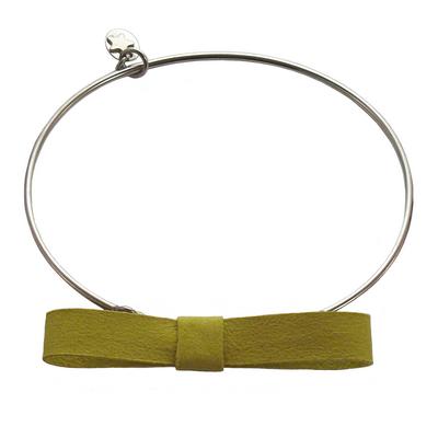 Bracelet jonc discrete jaune 0 1 2
