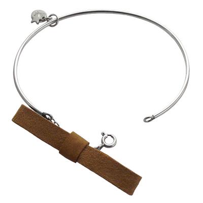 Bracelet jonc discrete sienne 1 2