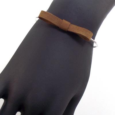Bracelet jonc discrete sienne 3