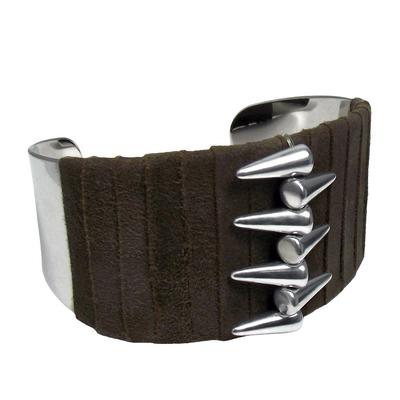 Bracelet manchette spike1 det