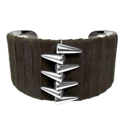 Bracelet manchette spike1