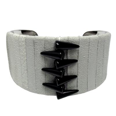 Bracelet manchette spike2