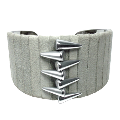 Bracelet manchette spike3