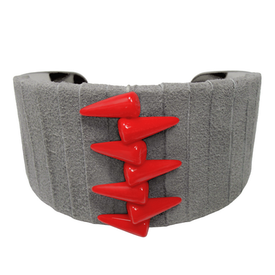 Bracelet manchette spike4