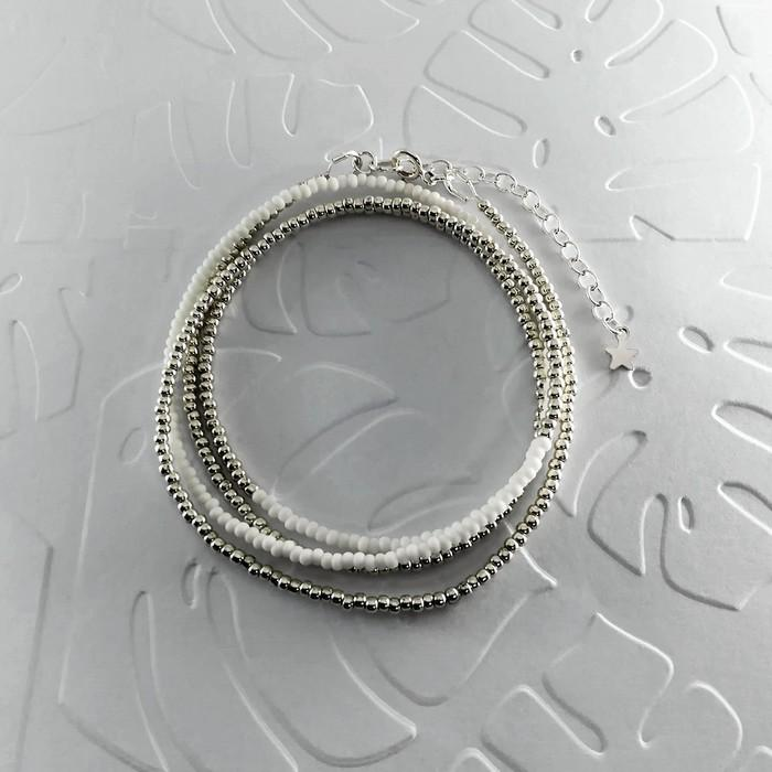 Bracelet wrap diego argent 0 0 700