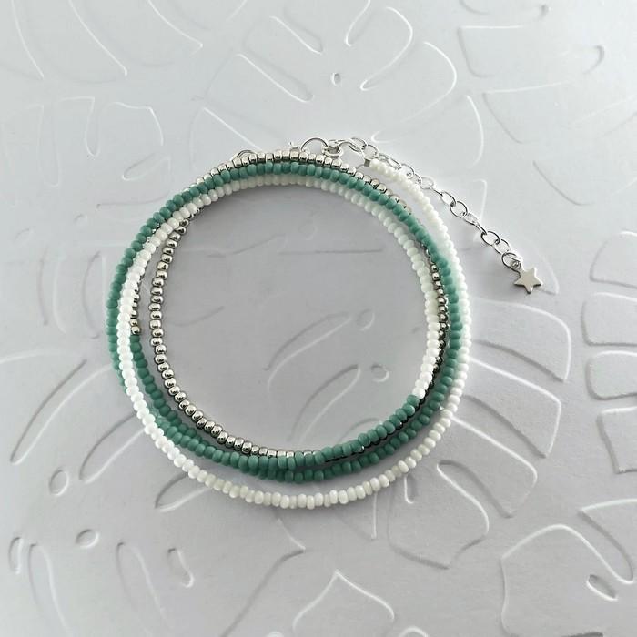 Bracelet wrap diego celadon 0 0 700