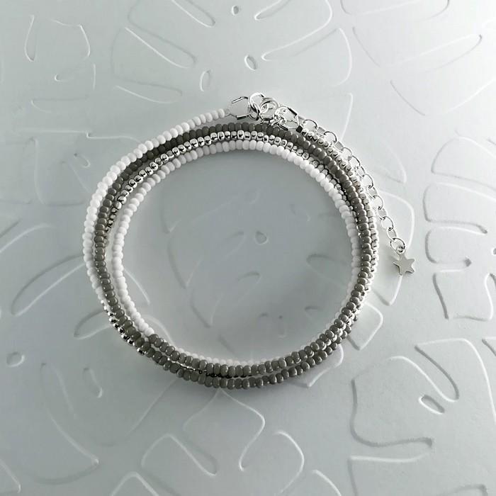 Bracelet wrap diego gris 0 0 701