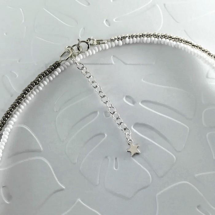 Bracelet wrap diego gris metal 2 0 700