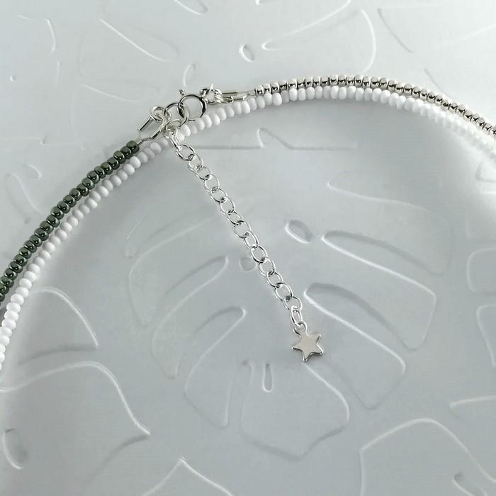 Bracelet wrap diego kaki metal 2 0 700