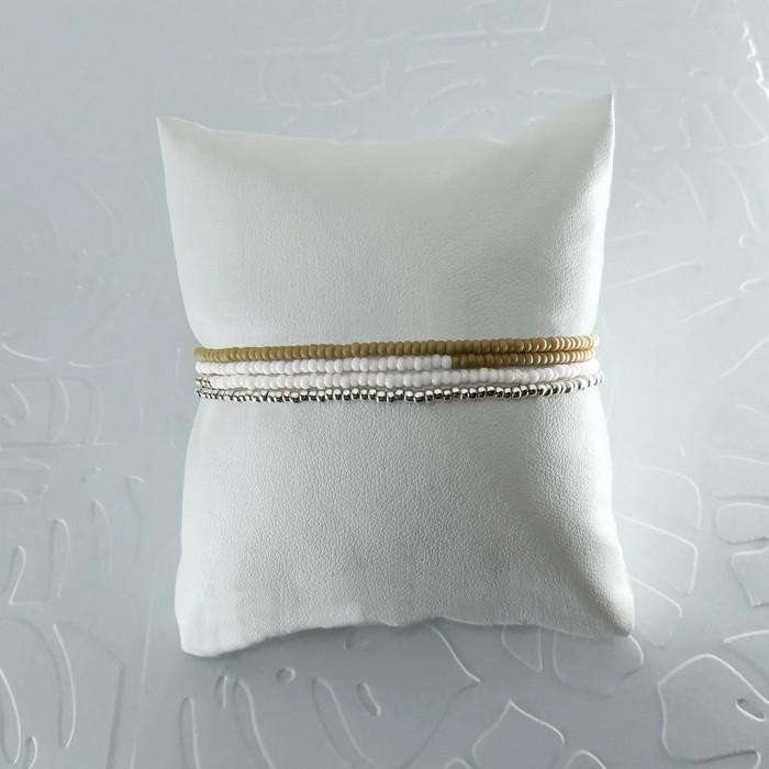 Bracelet wrap diego marron beige 1 0 700