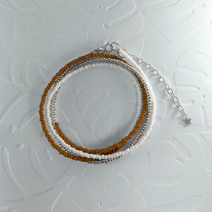 Bracelet wrap diego marron caramel 0 0 700
