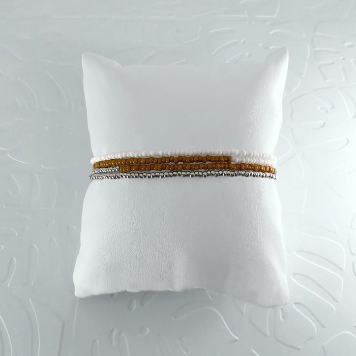 Bracelet wrap diego marron caramel 1 0 700