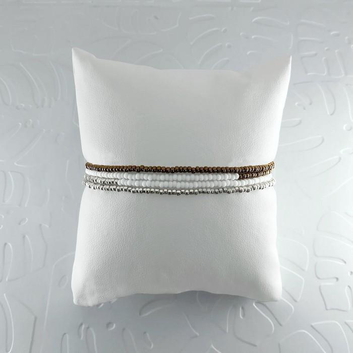 Bracelet wrap diego marron metal 1 0 700