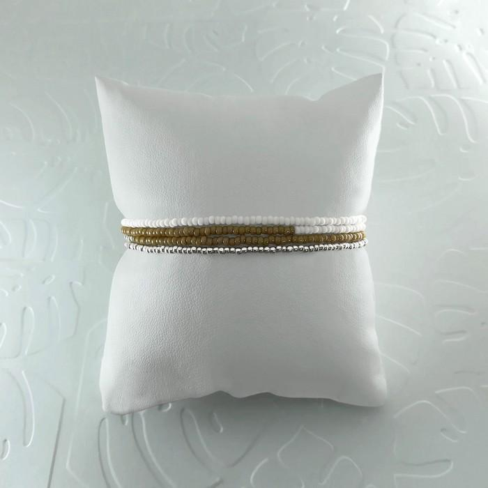 Bracelet wrap diego marron taupe 1 0 700