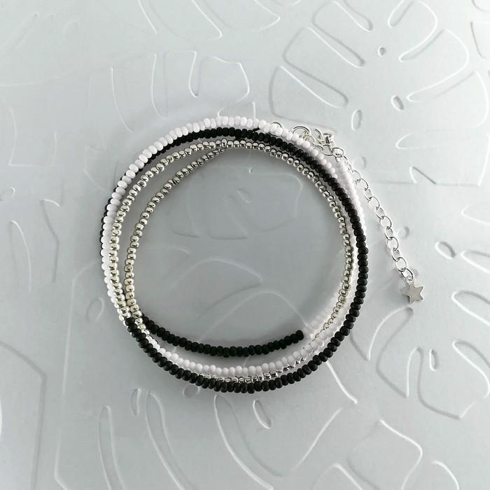 Bracelet wrap diego noir 0 0 700