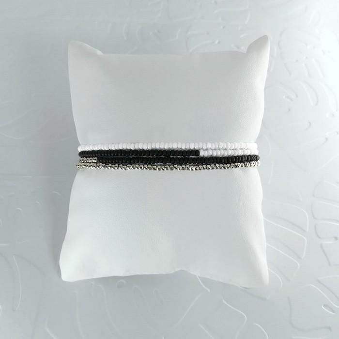 Bracelet wrap diego noir 1 0 700
