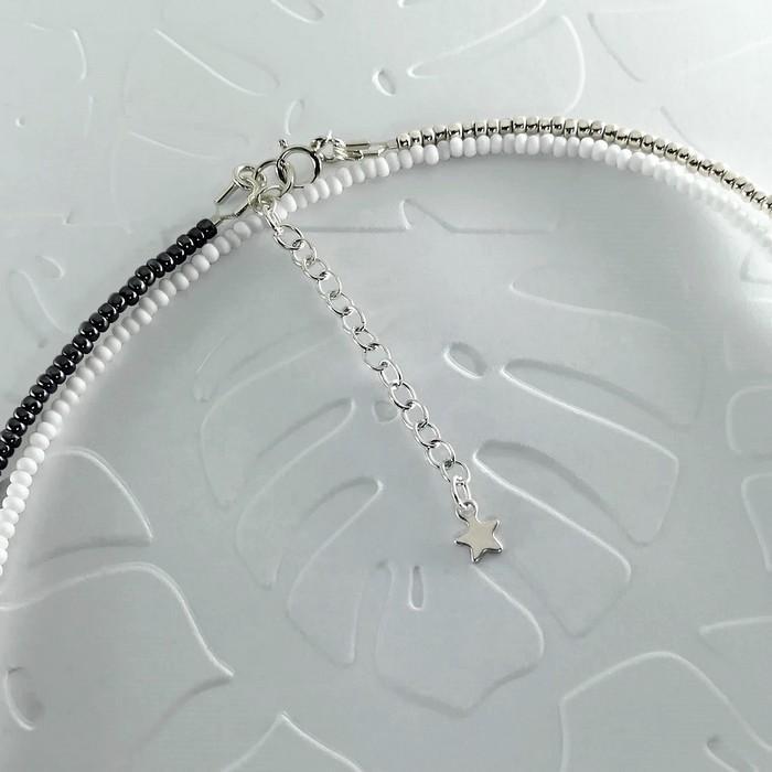 Bracelet wrap diego noir metal 2 0 700