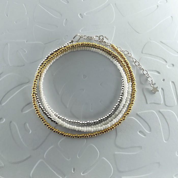 Bracelet wrap diego or pale 0 0 700