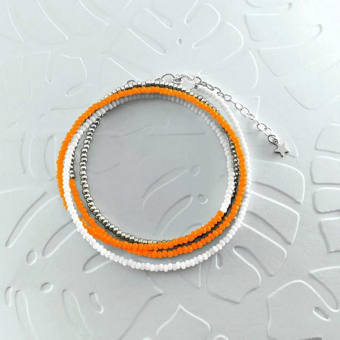 Bracelet wrap diego orange 0 0 700