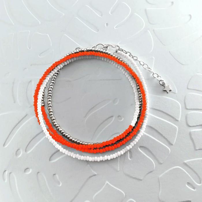 Bracelet wrap diego orange sanguine 0 0 700