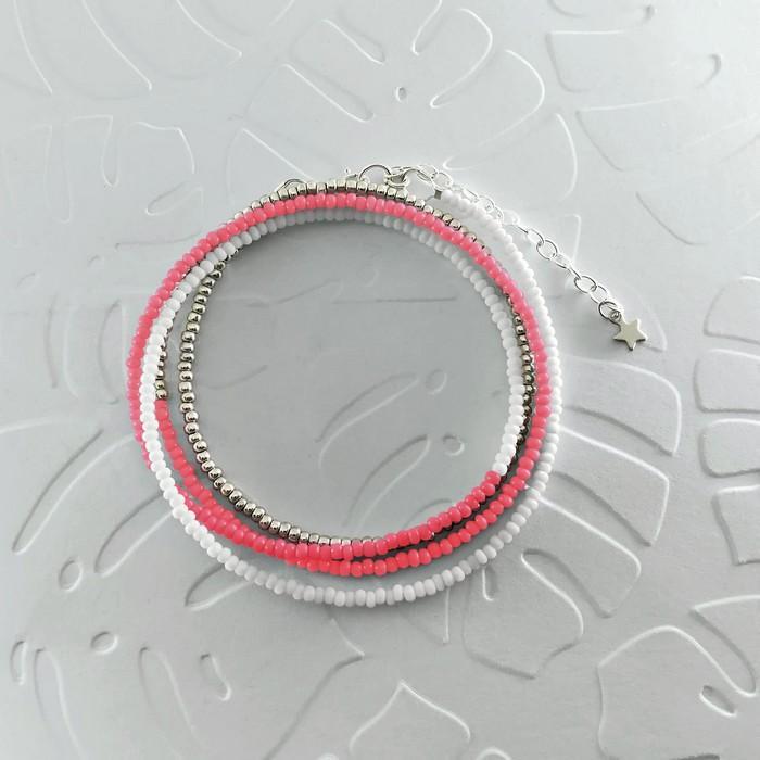 Bracelet wrap diego rose 0 0 700