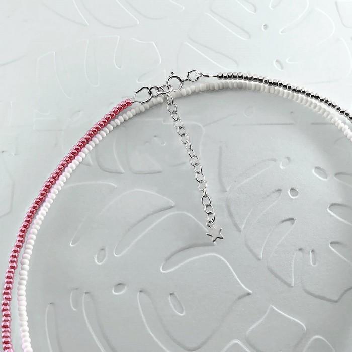 Bracelet wrap diego rose metallise 2 0 700