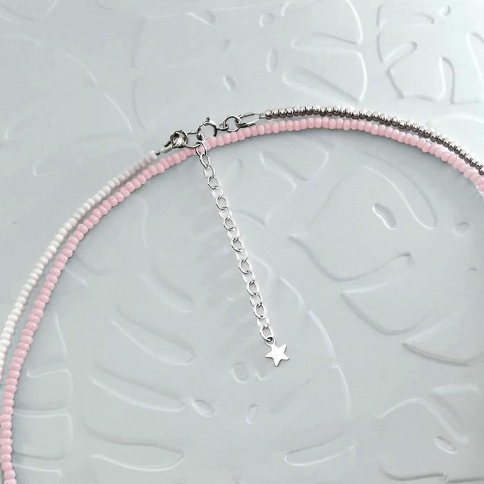 Bracelet wrap diego rose pale 2 0 700