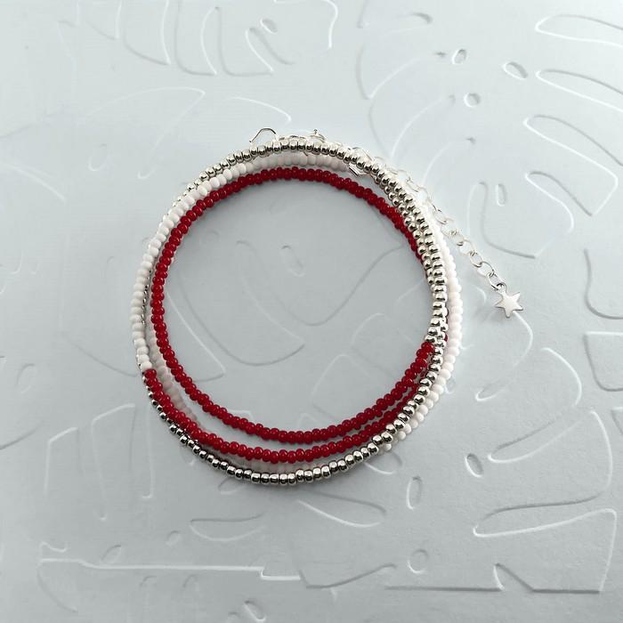 Bracelet wrap diego rouge bordeaux 0 700