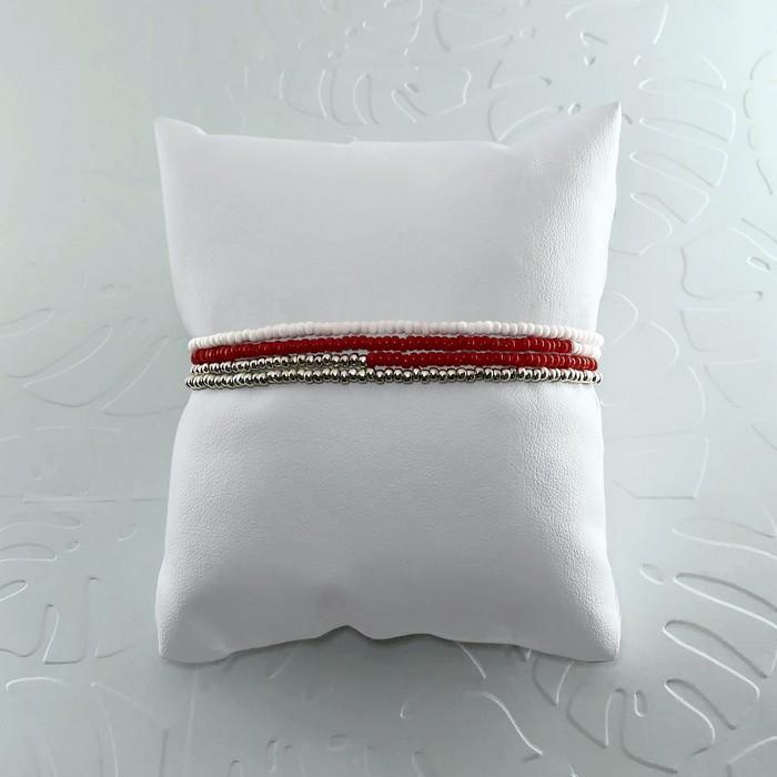 Bracelet wrap diego rouge bordeaux 1 700