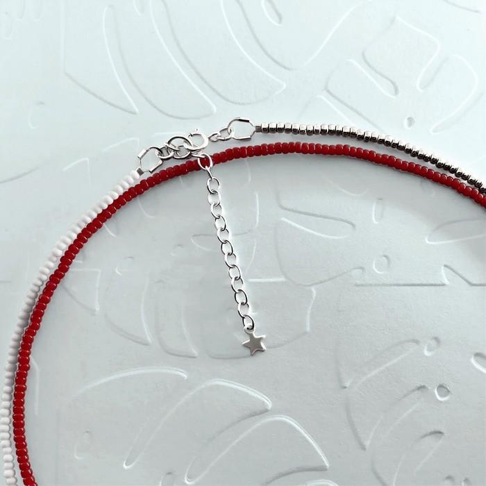 Bracelet wrap diego rouge bordeaux 2 700