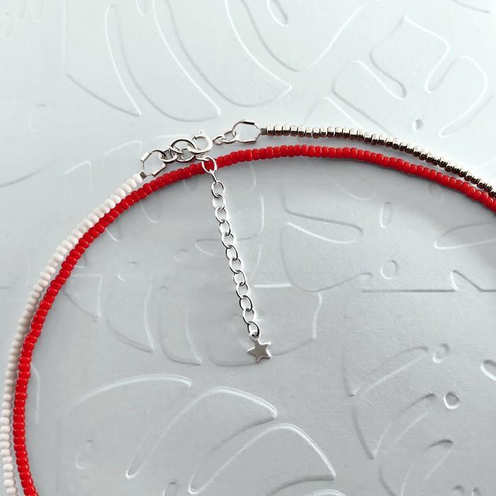 Bracelet wrap diego rouge cerise 2 700