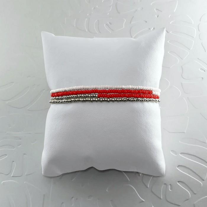 Bracelet wrap diego rouge coquelicot 1 0 701