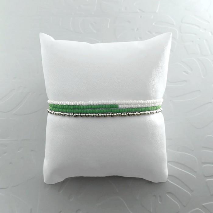 Bracelet wrap diego vert amande 1 0 700