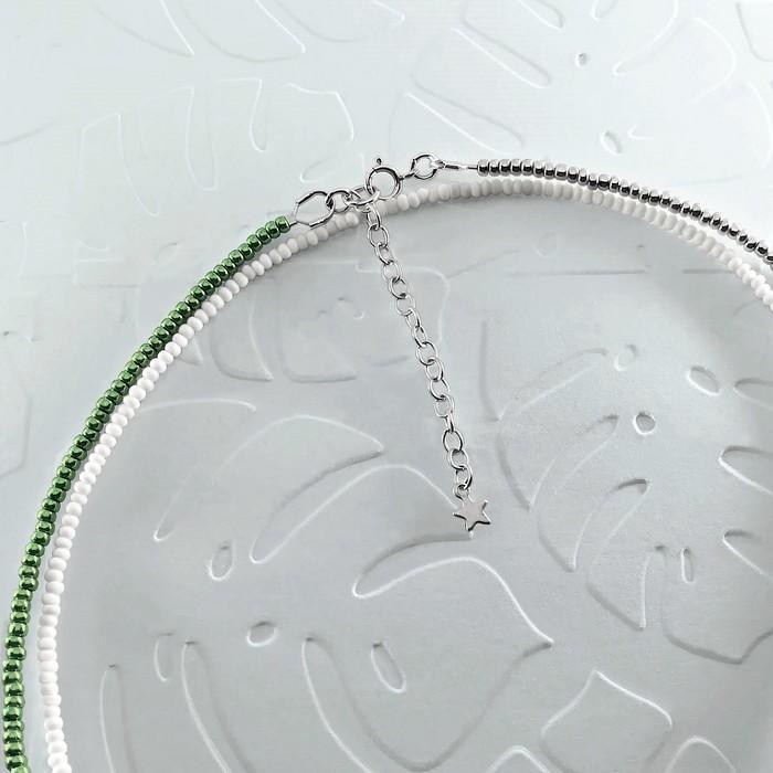 Bracelet wrap diego vert metal 2 0 700