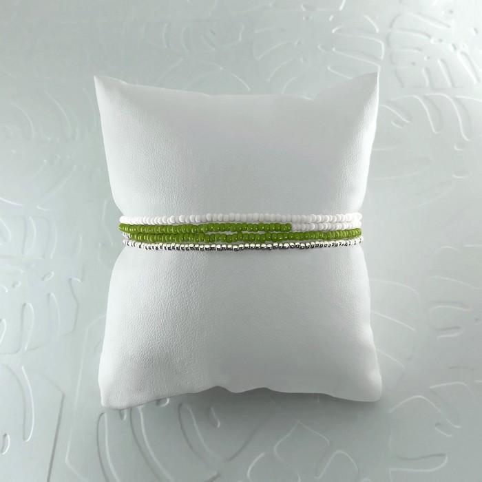 Bracelet wrap diego vert olive 1 0 700
