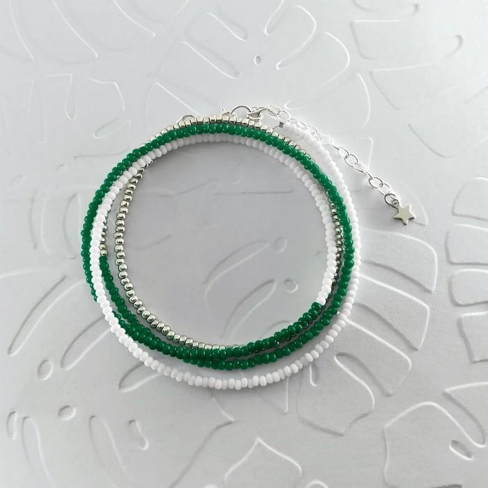 Bracelet wrap diego vert sapin 0 0 700