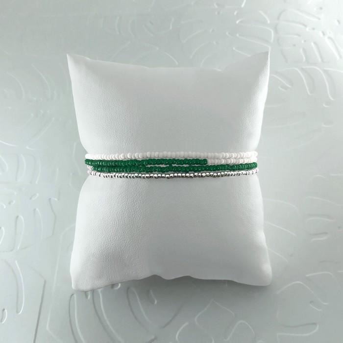 Bracelet wrap diego vert sapin 1 0 700