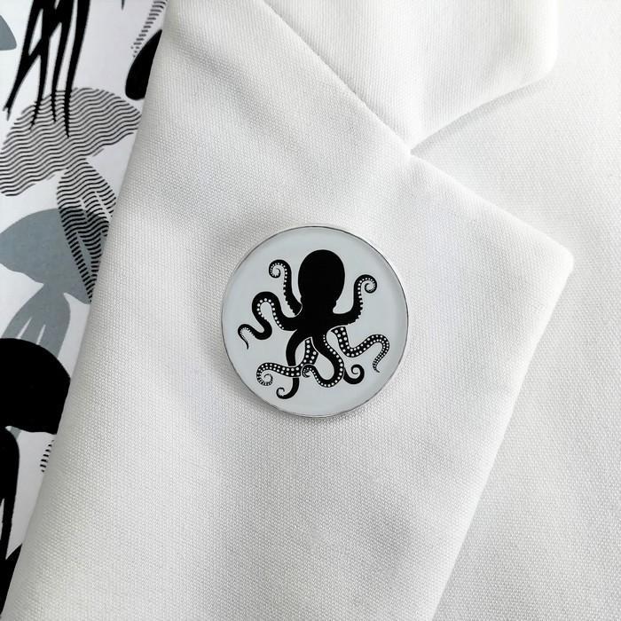 Broche badgi octopus 2 0 700