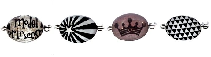 Les broches cabochons