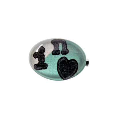 Broche In love