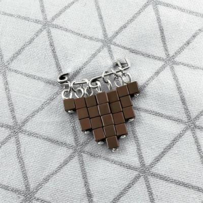 Broche Cubic cuivre
