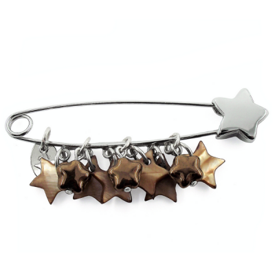 Brooch Rain of stars