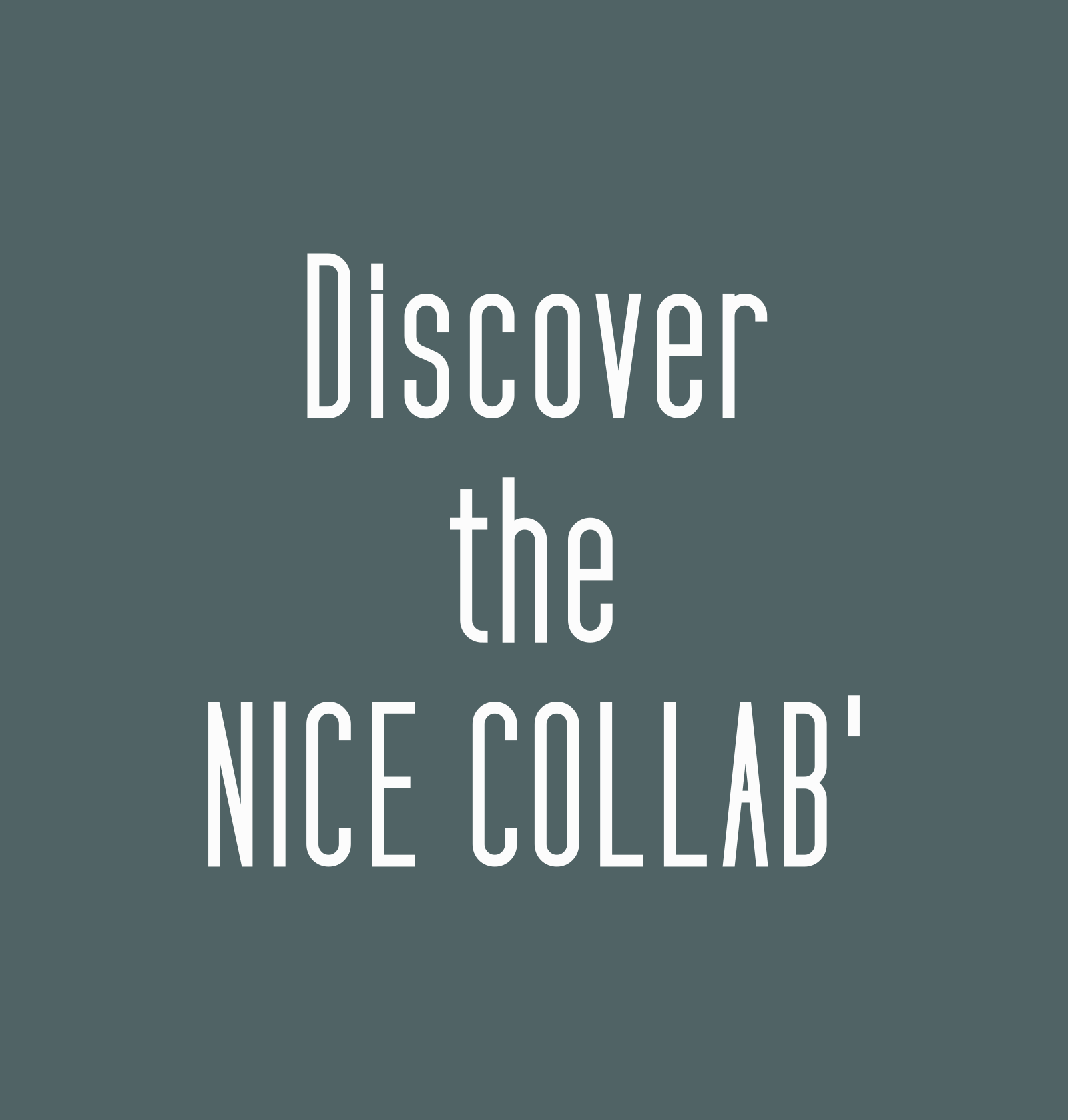 The nice collab'