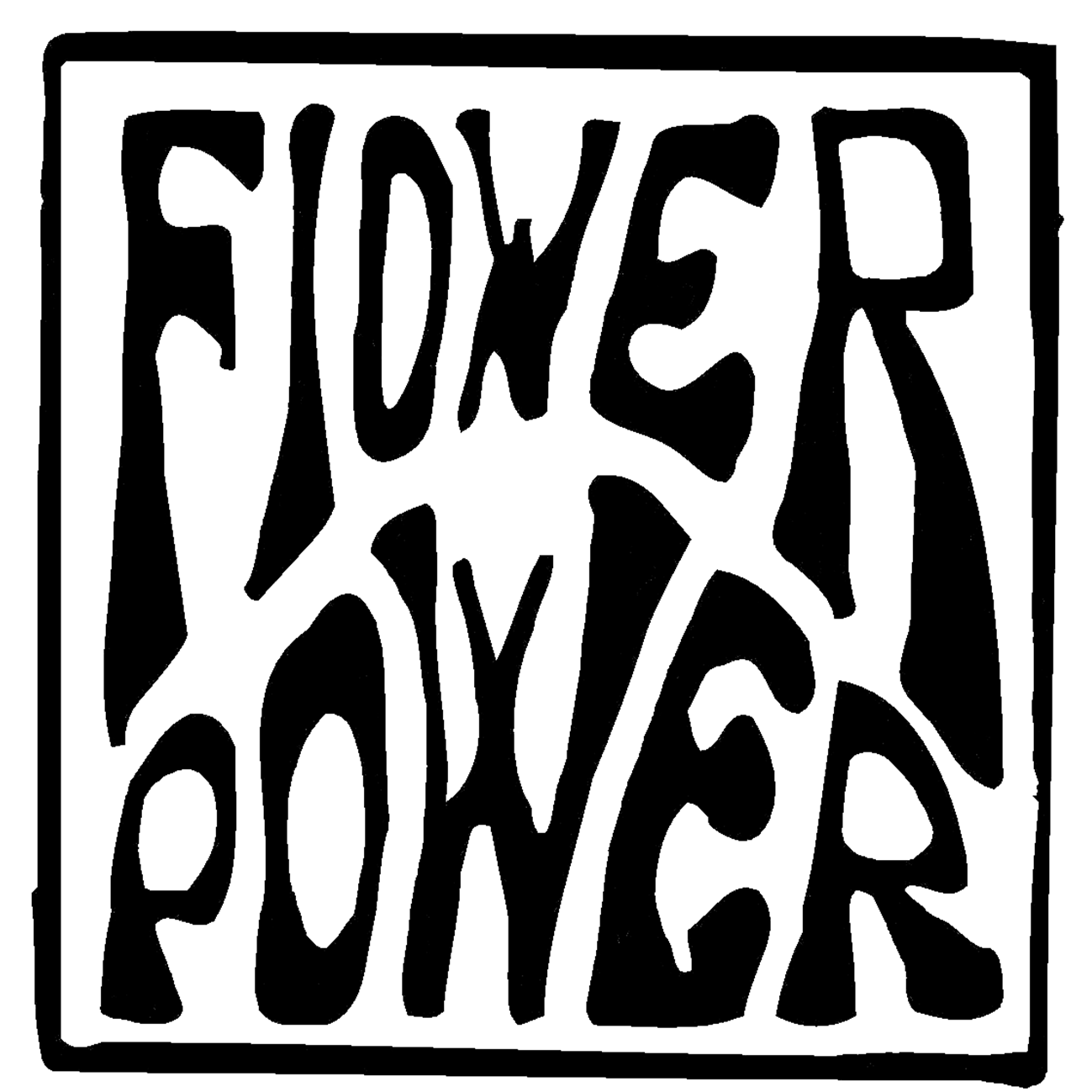 logo flower power